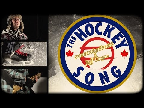 """The Hockey Song"" played with hockey sounds"