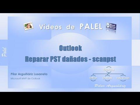 Outlook: Reparar archivos PST dañados con SCANPST