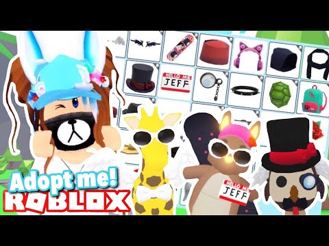 Dressing Up LEGENDARY Pets With The NEW Pet Accessories - Early Access | Roblox Adopt Me