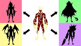 Ben10 Ultimate Forms Fan Art Drawing - Heatblast #1.