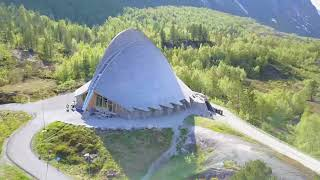 Klaudia & Mario Norwegen 2017 Jostedalsbreen Nigardsbreen Gaupne Gjerde Breheimsenteret