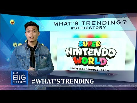 Super Nintendo World and more   WHAT'S TRENDING (15/01/20)   The Big Story   The Straits Times