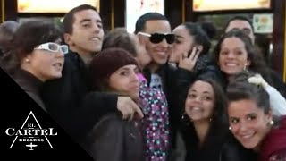 Daddy Yankee  In Paris Francia Behind... @ www.OfficialVideos.Net