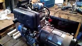 Заклинил двигатель дизельного генератора