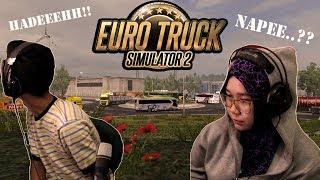 APA JADINYA KALAU CEWE CANTIK INI NYETIR BUS..?? || EURO TRUCK SIMULATOR 2