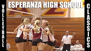 Esperanza High School Girls Volleyball Classics Highlights by Alex Iseri
