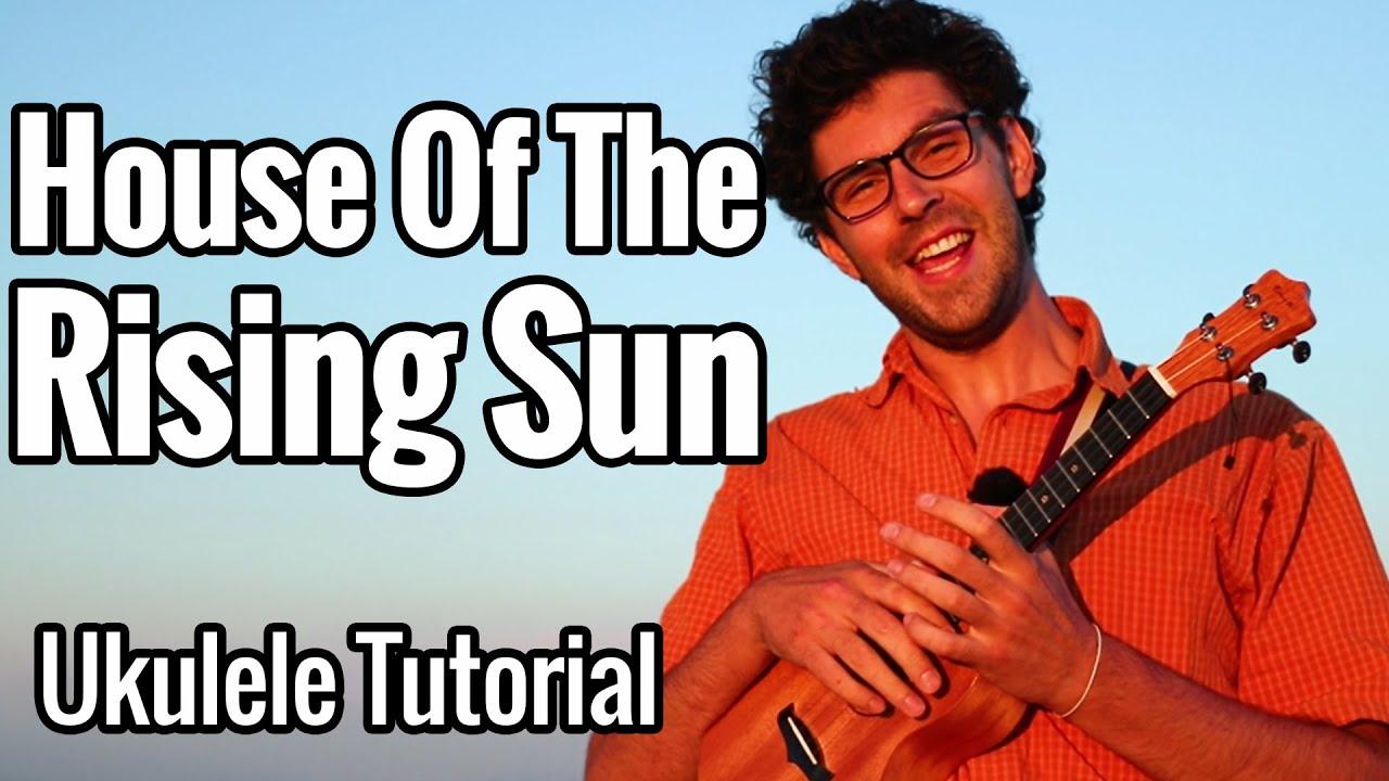 House Of The Rising Sun (Ukulele Tutorial) - The Animals