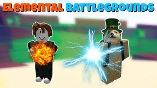 FAIRE TOUT SAUTER Roblox Elemental Battlegrounds Gameplay