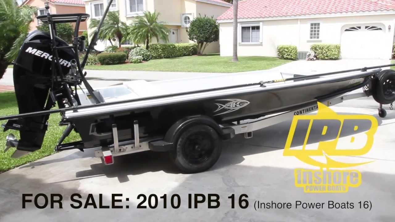 SKIFF FOR SALE 2010 IPB 16 skiff with 50 hp Mercury EFI