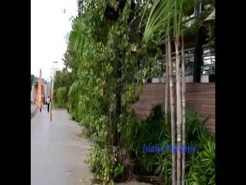 Sentosa Boardwalk - Walking Towards Sentosa And Back To Vivo City
