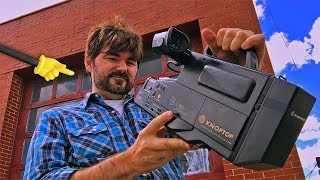 Create Movie Magic!! with a VHS Camcorder!!