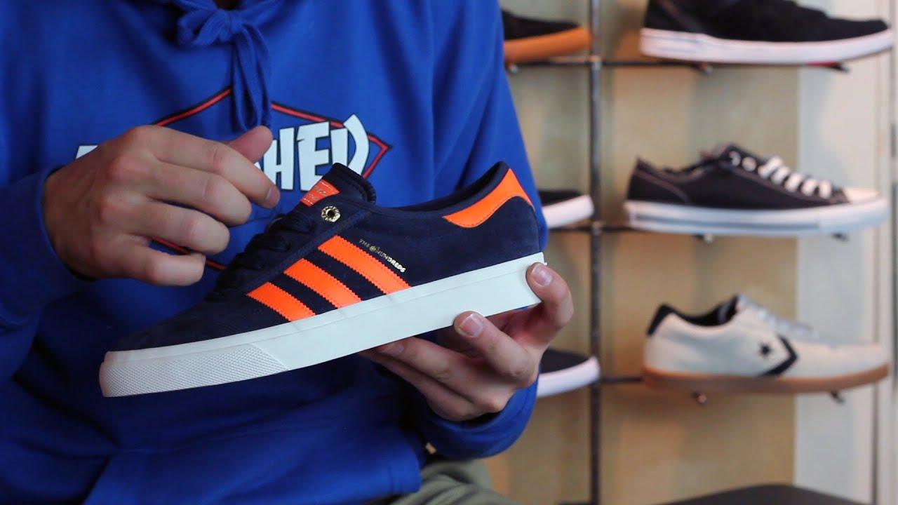 Adidas Adi Ease los cientos de zapatos de skate Review YouTube