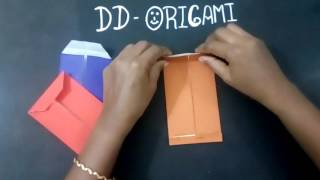 How to make a office Envelope. Origami envelope cover