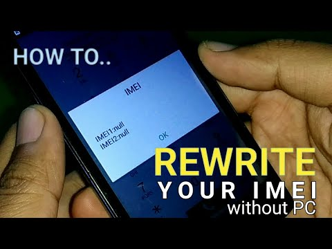 Cara Memperbaiki IMEI Null/Invalid Tanpa PC (How To Fix Null/Invalid IMEI Without PC)