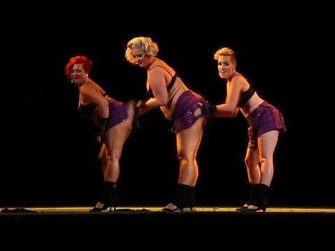 Cin City Burlesque - Fat Bottomed Girls (2016 Sep. Performance)