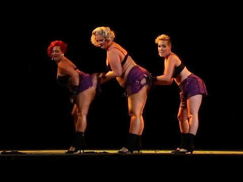 Cin City Burlesque - Fat Bottomed Girls (2016 Sep. Performance)