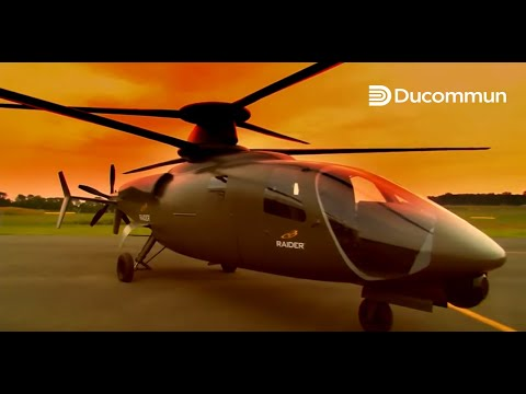 Ducommun Structural Solutions for the Sikorsky S-97 Raider Helicopter