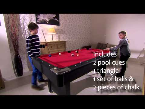UKSportImports.com - Walker & Simpson 'Monarch' 6ft Pool Table