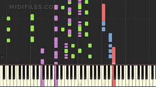 🎼 PRO. MIDI FILE : Cordula Grün (Josh.)