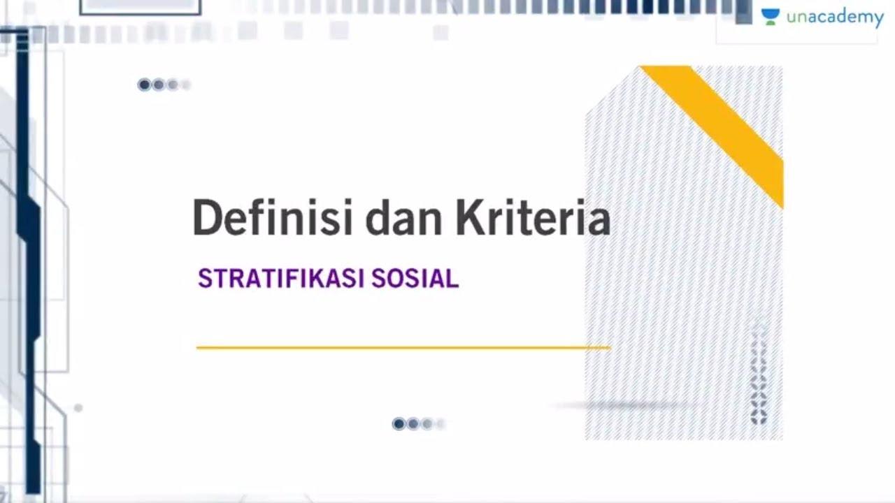 Definisi dan kriteria stratifikasi sosial sosiologi sbmptn un definisi dan kriteria stratifikasi sosial sosiologi sbmptn un sma ccuart Gallery