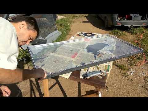 видео: Ремонт стеклопакета в домашних условиях