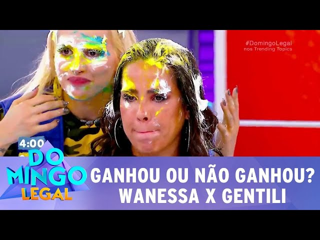 Wanessa Camargo X Danilo Gentili: quem ganhou o 'Passa Ou Repassa'? | Domingo Legal (25/11/2018)