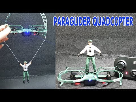 Paraglider Quadcopter Eachine E019 - Unboxing And Test