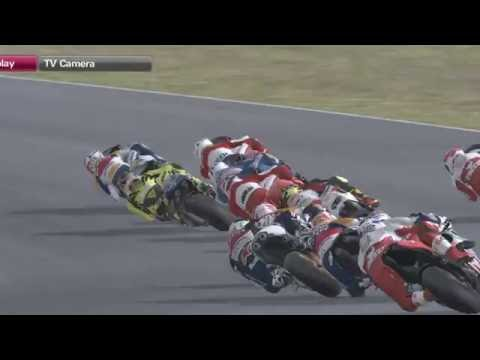 Rainey, Rossi and Spencer Battle in Phillip Island   Who's The Champion??