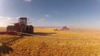 Harrowing at Hengerer Farms 2012