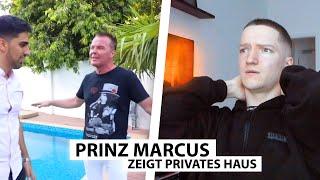 Justin reagiert auf Luxus Villa von Prinz Marcus.. | Reaktion