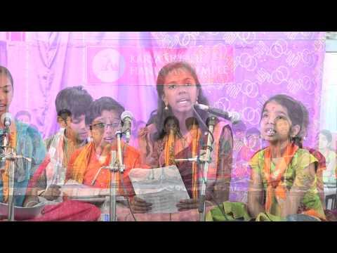 Vanara Gita chanting by vanarasena children