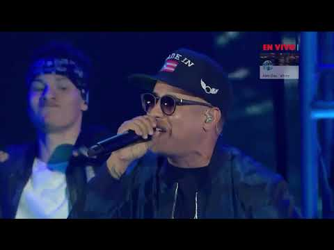Daddy Yankee - La Gasolina, Limbo Y Despacito, Somos Live, One Voice   Exitos Full HD