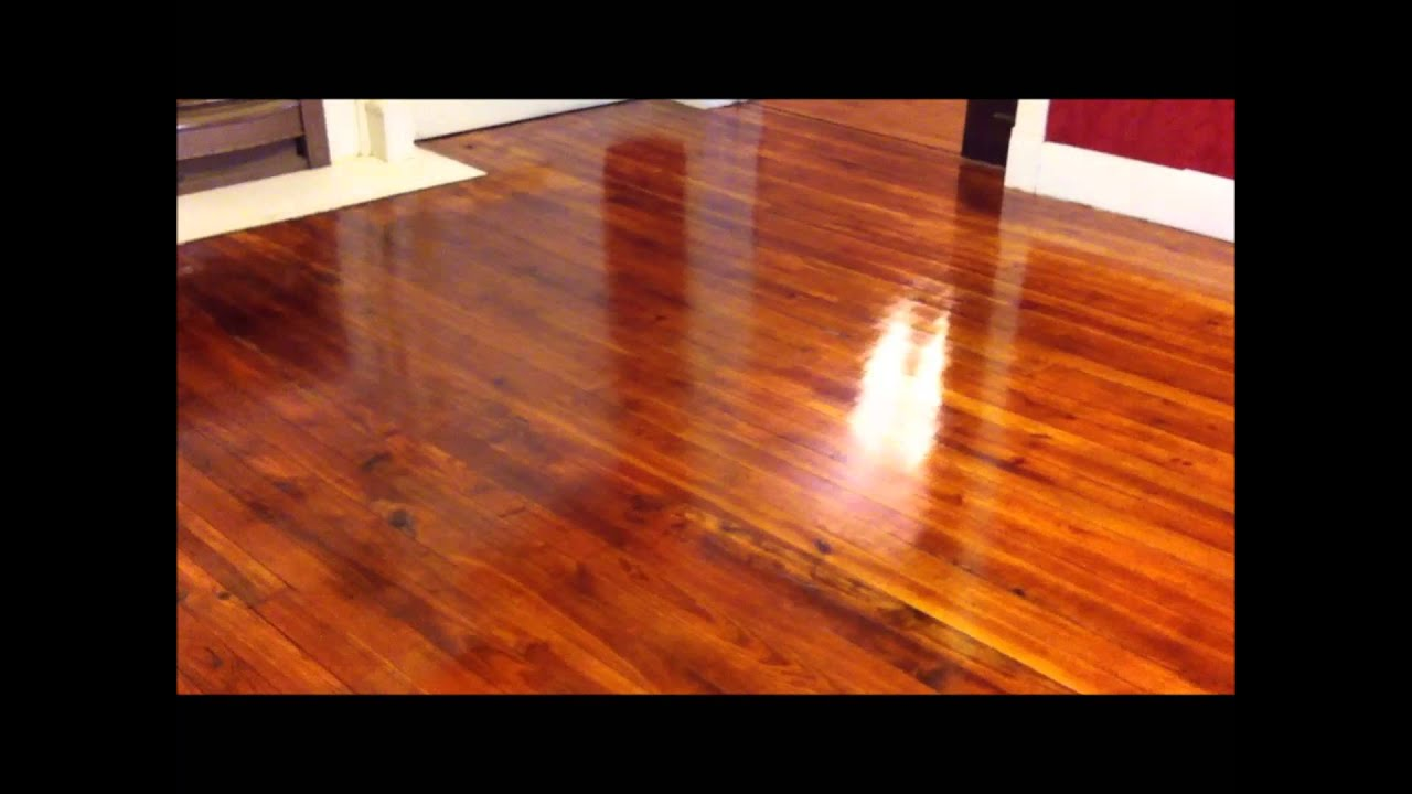 Refinishing Wood Floors Part 4 Youtube