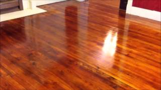 Refinishing Wood Floors Part 4