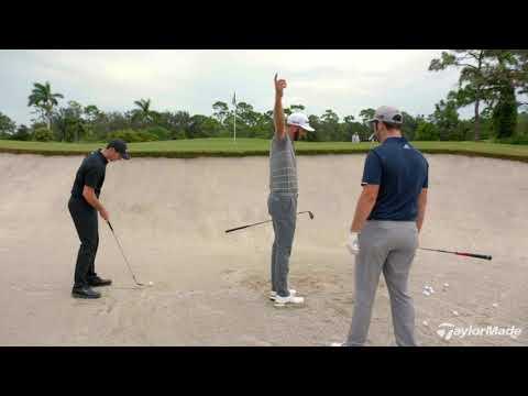 Rory McIlroy, Dustin Johnson, & Jon Rahm's Bunker Technique | TaylorMade Golf