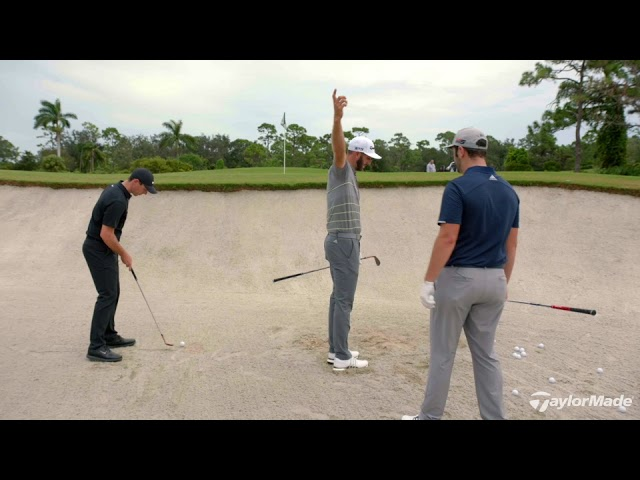 Rory McIlroy, Dustin Johnson, & Jon Rahm's Bunker Technique | TaylorMade Golf
