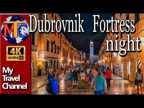Dubrovnik Fortress by night - Croatia 2017
