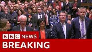 Brexit: MPs reject Theresa May's deal - BBC News