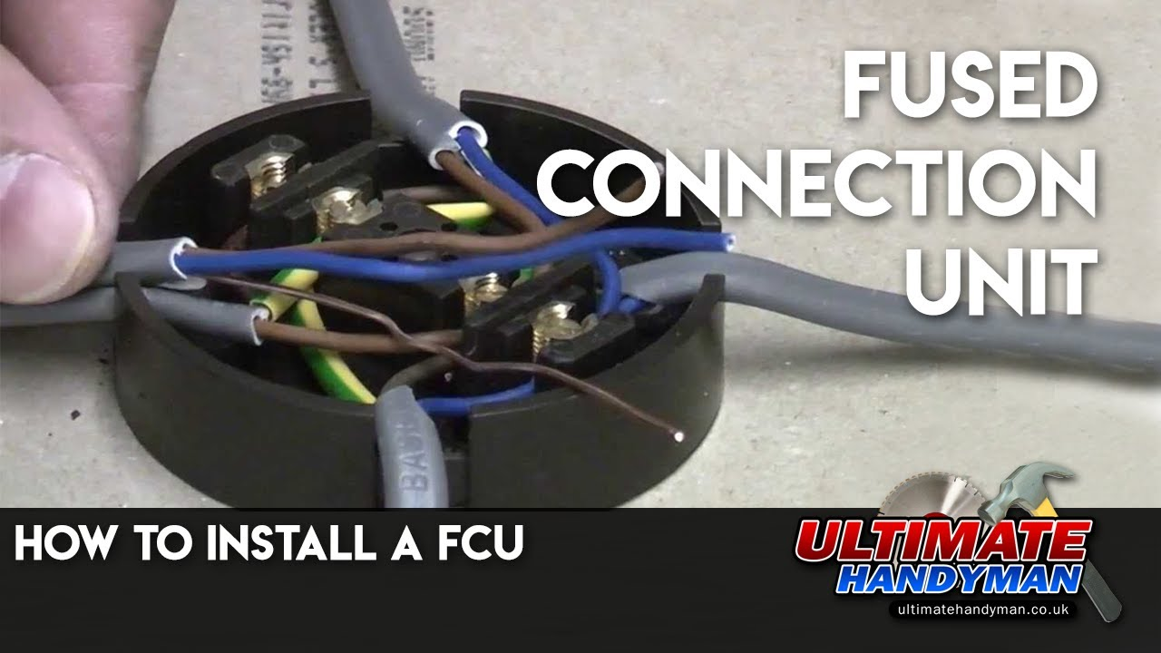 maxresdefault how to install a fcu fused connection unit youtube fused connection box at nearapp.co