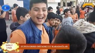 yunus emre ortaokulu 29 ekim cumhuriyet bayramı Şenliği karabağlar