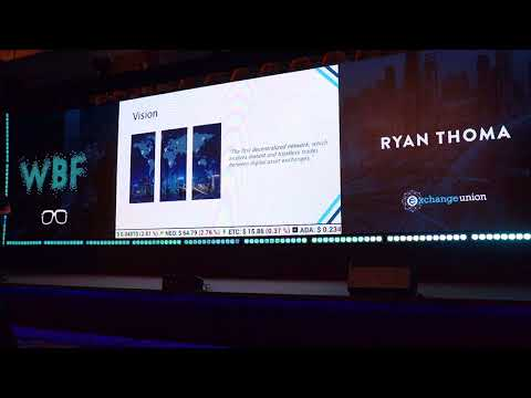 World Blockchain Forum Dubai 2018: Connecting Digital Asset Exchanges by Ryan Thoma