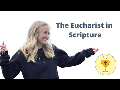 Why we believe holy communion is Jesus' body - Scripture proof