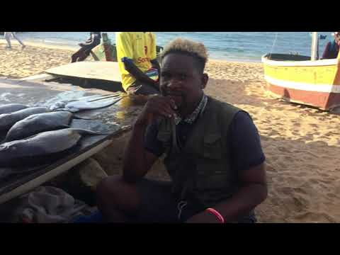 Where to buy fresh seafoods in Luanda #LifeInAfrica