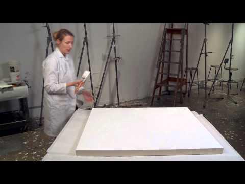 Canvas Priming Lesson