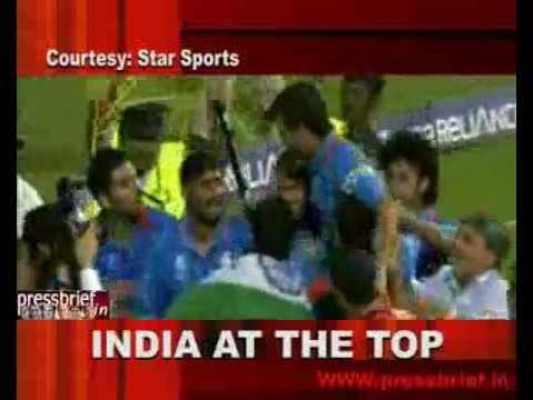 Sonia Gandhi celebrates Team India's Victory, 2nd April 2011