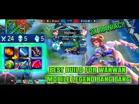 The Best Build For Hero Wanwan Mobile Legends