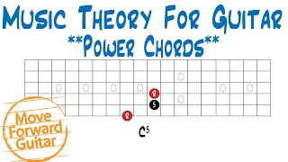 music theory for guitar power chords