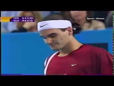 Marseille 2003 Federer - Sluiter