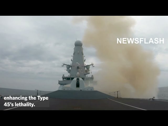 Royal Navy To Bolster Destroyers With Sea Ceptor Missile System