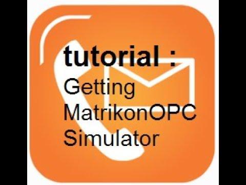 SUP! Tutorial : Installing MatrikonOPC Simulator